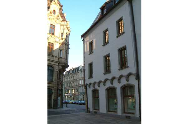 Ansicht Fassade Fachwerkhaus