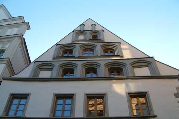 Ansicht außen Dachgeschoß