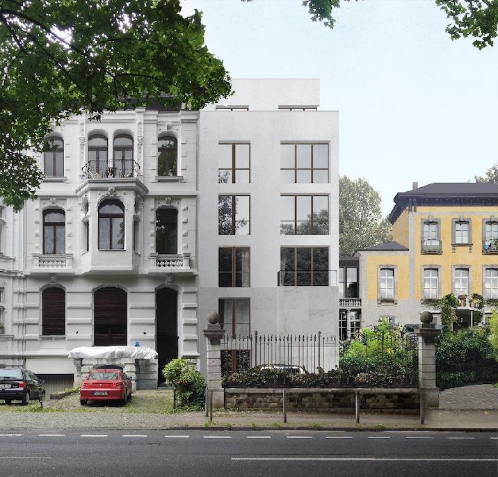 Nebenhaus - Voderseite/Straßenseite links