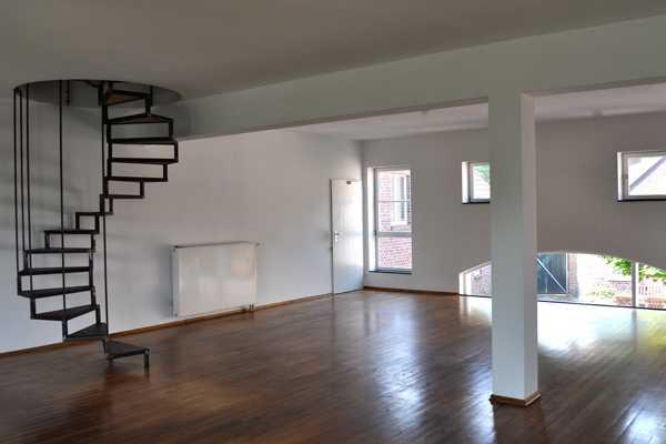 Wendeltreppe im Dachgeschoss